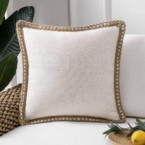 New Farmhouse Decorative Throw Pillow